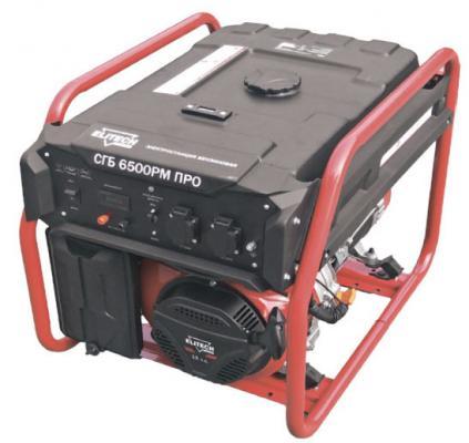 ELITECH СГБ 6500РМ ПРО Генератор, шт бензиновый генератор elitech бэс 950 р