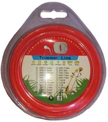 Леска для триммеров Greenfield Леска 2,0мм*15м (моток) квадрат спираль леска для триммера шестигранная 2 0мм 15м архимед 90855