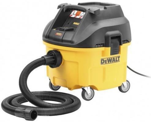 Картинка для DeWALT DWV900L-QS Промышленный пылесос для сухой/влажной уборки класса L, шт