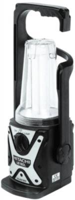 Фонарь переносной Hitachi UB 18 DL чёрный
