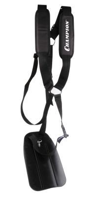 Ремень заплечный с защитой бедра для мотокос, CHAMPION, шт аксессуар система плечевых ремней eger 1963275 с защитой бедра