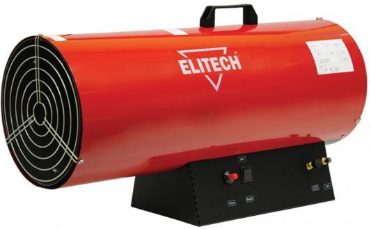 цена на Тепловая пушка газовая Elitech ТП 50ГБ 50000 Вт пьезорозжиг ручка для переноски красный чёрный