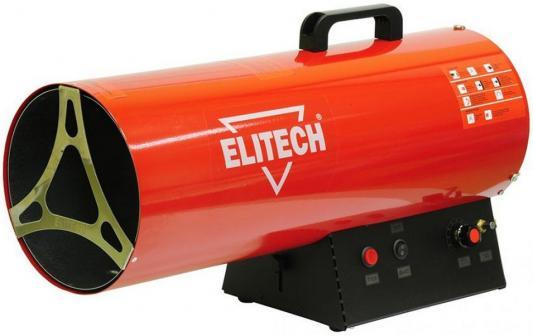 Тепловая пушка газовая Elitech ТП 70ГБ 70000 Вт красный чёрный цена и фото