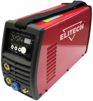ELITECH АИС 200АД AC/DC Сварка TIG, шт сварочный инвертор elitech аис 200ад ac dc