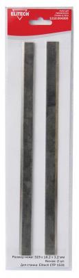 ELITECH 1110.004300 Набор ножей (Нож д\\рейсмуса,HSS,319х18.2х3.2мм,2шт,д\\СТР 1531), шт детектор elitech д 100