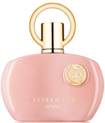 Парфюмерная вода женская Afnan Supremacy Pour Femme Pink 100 мл 216366 afnan modest pour femme une парфюмерная вода женская 100 мл