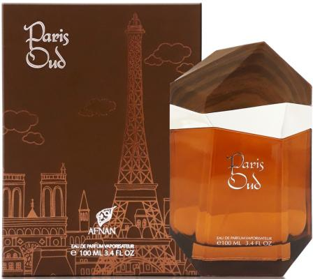 Парфюмерная вода унисекс Afnan Paris Oud 100 мл 216369