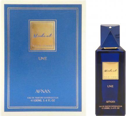 Парфюмерная вода женская Afnan Modest Pour Femme Une 100 мл 214189 afnan modest pour femme une парфюмерная вода женская 100 мл