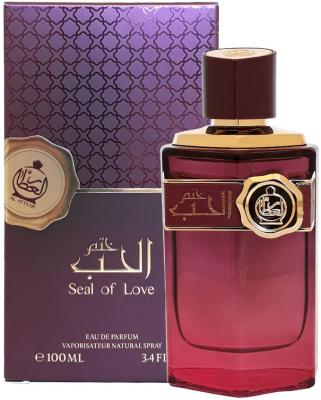 Парфюмерная вода унисекс Al Attar Seal of Love 100 мл 216228 ajmal 1001 night парфюмерная вода унисекс 60 мл