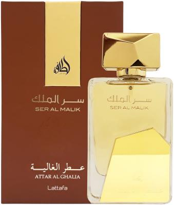 Парфюмерная вода мужская Lattafa Ser Al Malik 100 мл 216758 malik benthala lyon