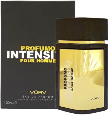Парфюмерная вода мужская Vurv Profumo Intensity Pour Homme 100 мл 216798