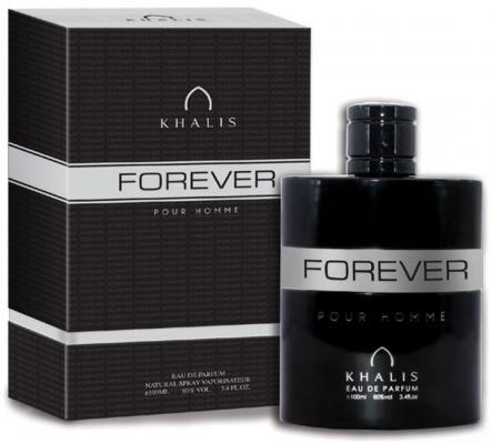 Парфюмерная вода мужская Khalis Forever Pour Homme 100 мл KH216817 khalis sandal туалетная вода 30 мл