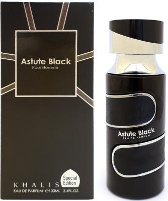 Парфюмерная вода мужская Khalis Astute Black Pour Homme 100 мл KH215629
