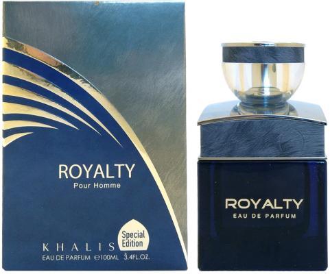 Парфюмерная вода мужская Khalis Royalty Pour Homme 100 мл KH215634