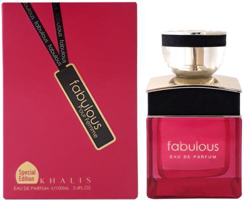 Парфюмерная вода женская Khalis Fabulous Pour Femme 100 мл KH215635