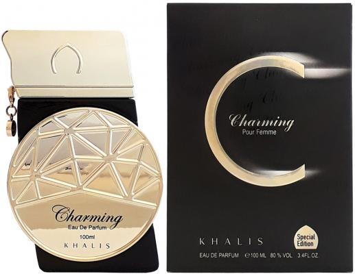 Парфюмерная вода женская Khalis Charming Pour Femme 100 мл KH215638 pair of charming titanium steel geometric earrings for women