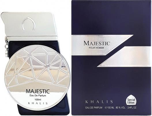 Парфюмерная вода мужская Khalis Majestic Pour Homme 100 мл KH215639