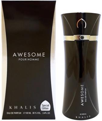 Парфюмерная вода мужская Khalis Awesome Pour Homme 100 мл KH215640 giftman бергамот 10 мл 100