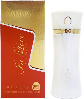 Парфюмерная вода женская Khalis In Love Pour Femme 100 мл KH215641 парфюмерная вода женская khalis my valantine women pour femme 100 мл kh215785