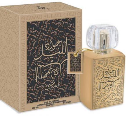 Парфюмерная вода унисекс Khalis Jawad Al Layl Gold 100 мл KH216826 khalis sandal туалетная вода 30 мл