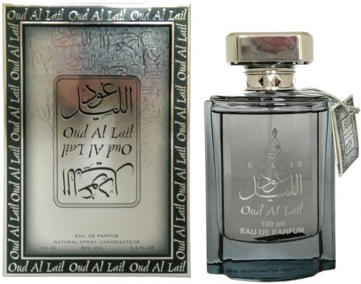 Парфюмерная вода унисекс Khalis Oud Al Lail 100 мл KH215646