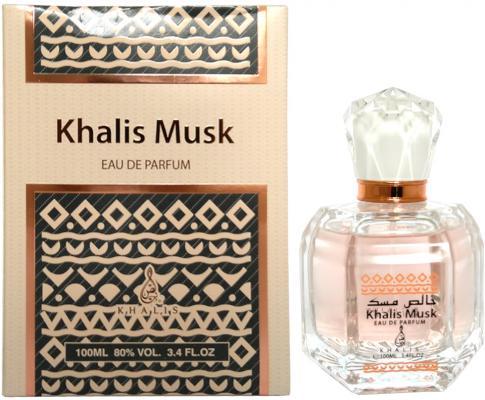 Парфюмерная вода унисекс Khalis Musk 100 мл KH215655