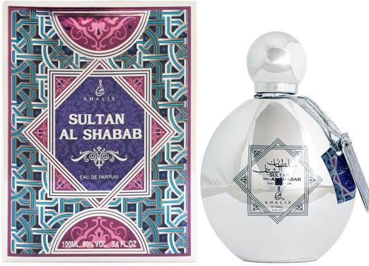 Парфюмерная вода унисекс Khalis Sultan Al Shabab 100 мл KH215675 khalis sultan туалетная вода 30 мл