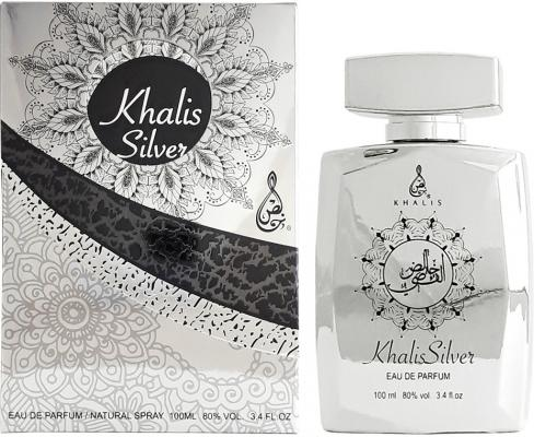 Парфюмерная вода унисекс Khalis Silver 100 мл KH215686