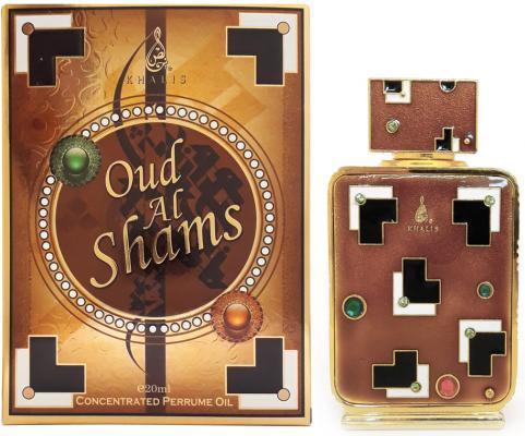 Масло парфюмерное унисекс Khalis Oud Al Shams 20 мл KH215722