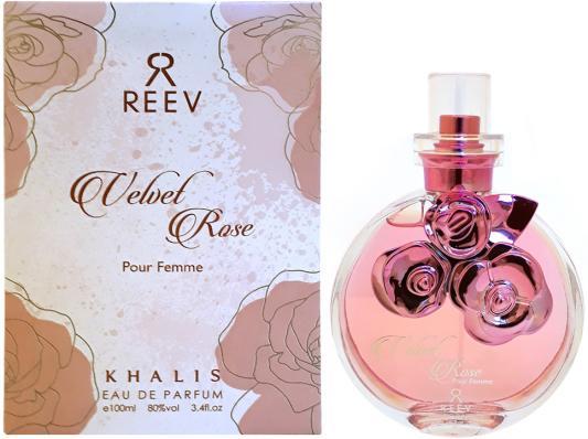 Парфюмерная вода женская Khalis Velvet Rose Pour Femme 100 мл KH215775 khalis rose туалетная вода 30 мл