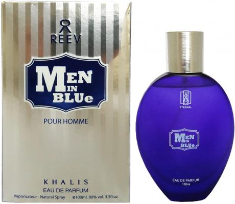 Фото - Парфюмерная вода мужская Khalis Men In Blue Pour Homme 100 мл KH215782 2018 new vintage men s messenger bags canvas shoulder bag fashion men business crossbody printing travel small handbag