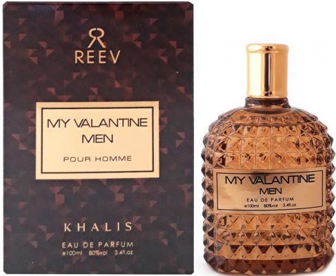 Парфюмерная вода мужская Khalis My Valantine Men Pour Homme 100 мл KH215784
