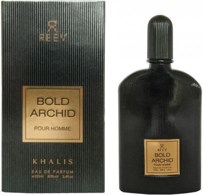 Парфюмерная вода мужская Khalis Bold Archid Pour Homme 100 мл KH215786 khalis reev black shadow pour homme парфюмерная вода мужская 100 мл