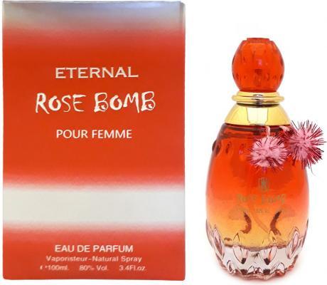 Парфюмерная вода женская Khalis Eternal Rose Bomb Pour Femme 100 мл KH215790 khalis rose туалетная вода 30 мл