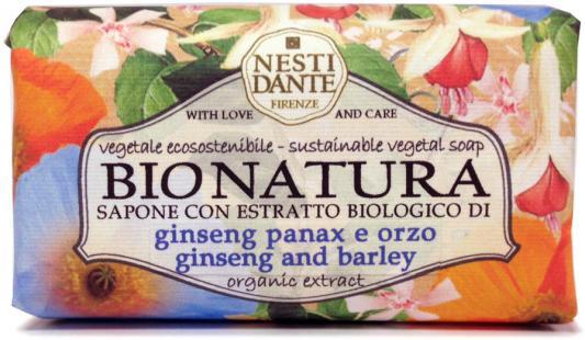 Мыло твердое Nesti Dante Ginseng & Barley / Женьшень и ячмень 250 гр 1342106