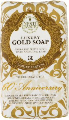 Мыло твердое Nesti Dante 60th Anniversary Gold Soap / Юбилейное золотое 250 гр 1781106