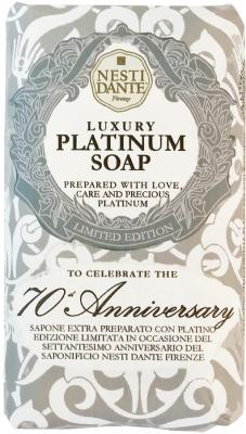 Мыло твердое Nesti Dante 70th Anniversary Platinum Soap / Юбилейное платиновое 250 гр 1780106