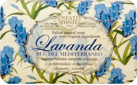 Мыло твердое Nesti Dante Lavanda Blu del Mediterraneo / Лаванда Голубое Средиземноморье 150 гр 1795106 nesti dante мыло lavanda rosa del chianti 150 г
