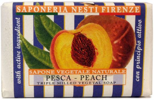 Мыло твердое Nesti Dante Peach / Персик 150 гр 1773106 мыло твердое nesti dante villages