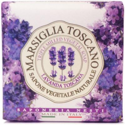 Мыло твердое Nesti Dante Lavanda Toscana / Лаванда Тоскана 200 гр 1724106 nesti dante мыло lavanda rosa del chianti 150 г