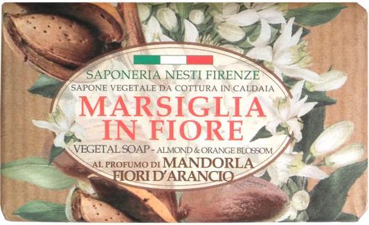 Мыло твердое Nesti Dante Almond & Orange Flowers / Миндаль и цветы апельсина 125 гр 1080126 nesti dante мыло золотая осень 250 гр