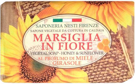 Мыло твердое Nesti Dante Honey & Sunflower / Мед и подсолнух 125 гр 1080127 nesti dante мыло золотая осень 250 гр
