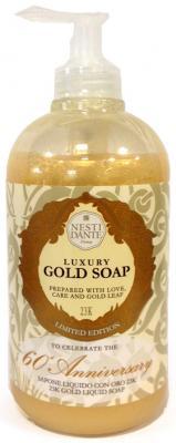 Мыло жидкое Nesti Dante 60th Anniversary Gold Soap / Юбилейное золотое 500 мл 5050106