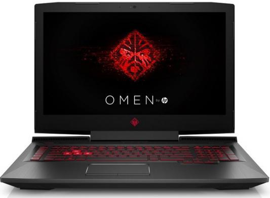 Ноутбук HP Omen 17-an117ur (4JU09EA) ноутбук hp omen 17 an016ur 2500 мгц dvd±rw