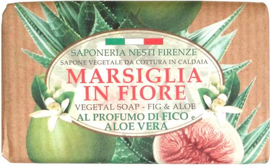 Мыло твердое Nesti Dante Fig & Aloe / Инжир и Алоэ 125 гр 1080124