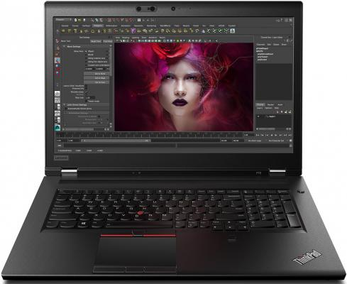 Ноутбук Lenovo ThinkPad P72 Core i7 8850H/16Gb/1Tb/SSD512Gb/nVidia Quadro P3200 6Gb/17.3/IPS/UHD (3840x2160)/Windows 10 Professional/black/WiFi/BT/Cam ноутбук lenovo thinkpad p1 core i7 8750h 16gb 512gb ssd nv quadro p1000 4gb 15 6 uhd touch win10pro black