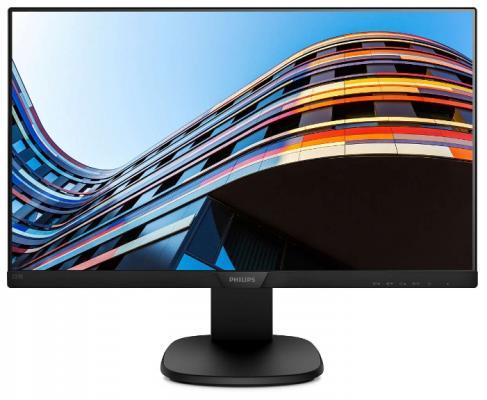 Монитор 22 Philips 223S7EHMB (00/01) черный IPS 1920x1080 250 cd/m^2 5 ms VGA HDMI Аудио поврежденная упаковка