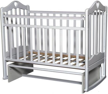 Кроватка с маятником Антел Каролина 3 (слоновая кость) кроватка антел каролина 5 слоновая кость