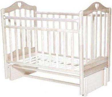 Кроватка с маятником Антел Каролина 5 (слоновая кость) кроватка с маятником sweet baby eligio avorio слоновая кость