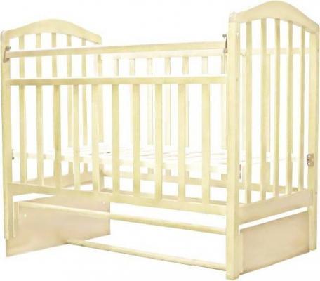 Кроватка с маятником Антел Алита 5 (слоновая кость) кроватка с маятником sweet baby eligio avorio слоновая кость